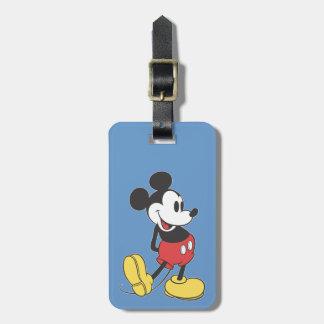Classic Mickey Luggage Tag