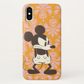 Classic Mickey | Vintage Angry iPhone X Case