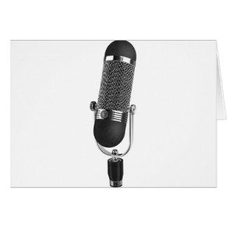 Classic Microphone Card