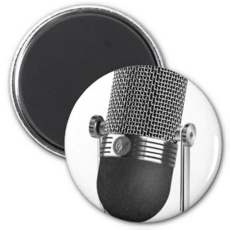 Classic Microphone Magnet