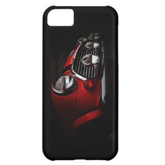 Classic Mini with rally lights iPhone Case