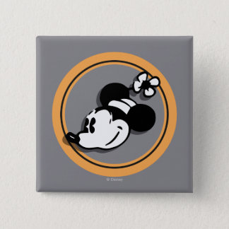 Classic Minnie Mouse 15 Cm Square Badge
