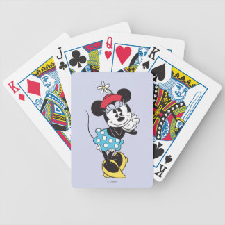 Classic Minnie Mouse 4 Bicycle Playing Cards