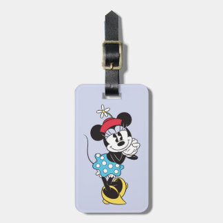 Classic Minnie Mouse 4 Luggage Tag