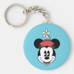 Classic Minnie Mouse 5 Keychain