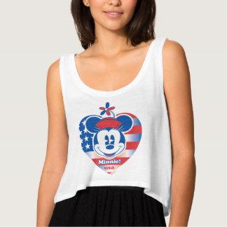 Classic Minnie | Patriotic Singlet
