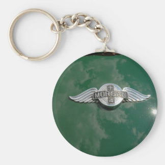 Classic Morgan Sports Car Key Ring