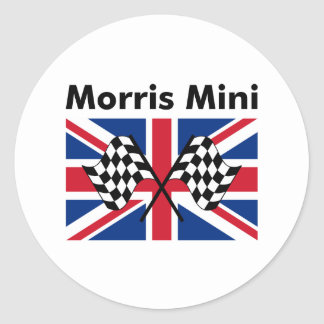 Classic Morris Mini Classic Round Sticker