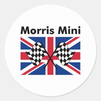 Classic Morris Mini Round Sticker