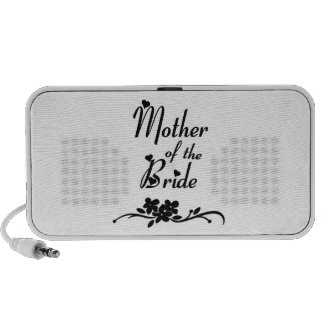 Classic Mother of the Bride iPhone Speaker