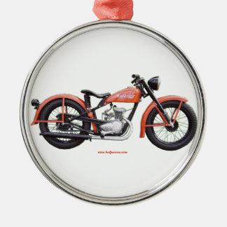 Classic Motorbike 125 HD_Texturized Metal Ornament