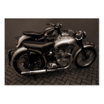 Classic Motorbikes, Mini Photo Business Card Template