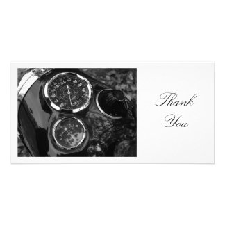 Classic Motorcycle Gauges - Thank You Card