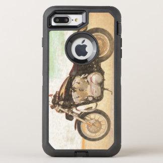 Classic Motorcycle OtterBox Defender iPhone 8 Plus/7 Plus Case