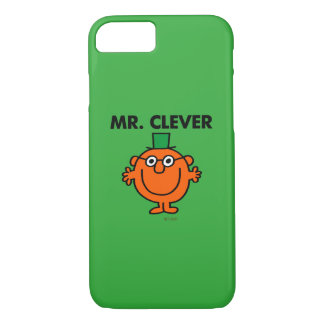 Classic Mr. Clever Logo iPhone 8/7 Case