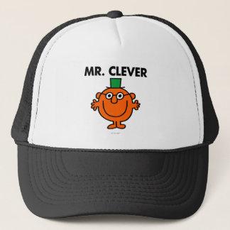 Classic Mr. Clever Logo Trucker Hat