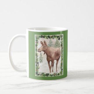 Classic Mug Christmas Moose
