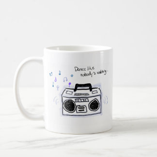 Classic Mug Drawing of Radio