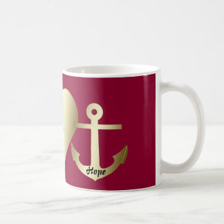 "Classic Mug - ""Faith, hope and love"""