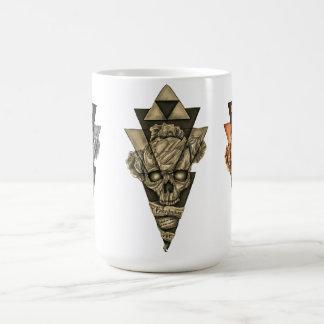"""Classic mug """"Skull pyramid """""""