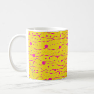 CLASSIC MUG Starry Night Yellow, Magenta