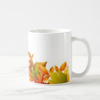 classic mug, white, custom, Halloween, border Coffee Mug