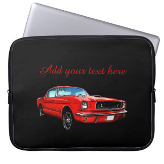 Classic Mustang Neoprene Laptop Sleeve