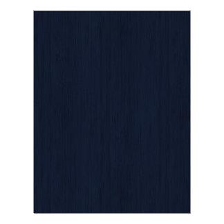 Classic Navy Blue Bamboo Wood Grain Look 21.5 Cm X 28 Cm Flyer