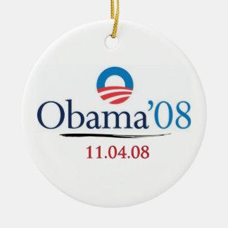 Classic Obama '08 Commemorative Ornament