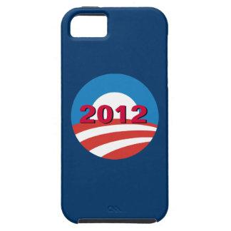 Classic Obama 2012 iPhone 5 Case (Blue)