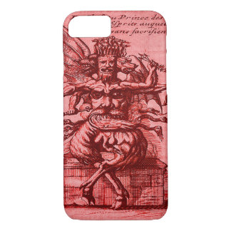 Classic Occult Red Demon Prince iPhone 7 Case