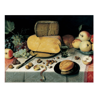Classic Oil Painting Floris Van Dyck Postcard
