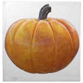 Classic Orange Pumpkin Napkin