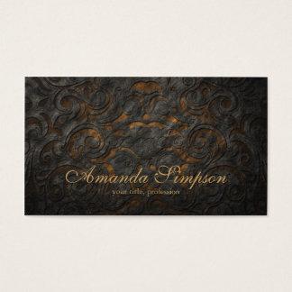 Classic Ornament Gold Fashion Designer Card