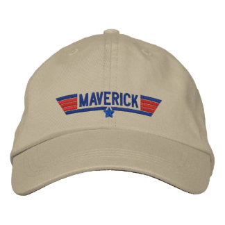 Classic Personalized Top Gun Maverick Your Text Embroidered Hat