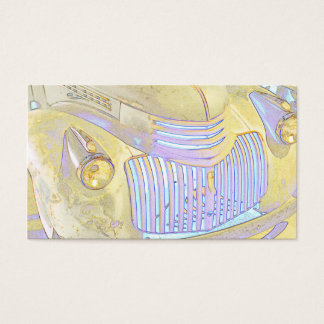 Classic Pick Up Truck Front Grill 2 Business Card