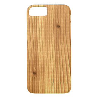Classic Pine Untreated Wood iPhone 7 Case