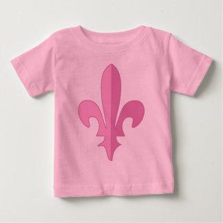 Classic Pink Fleur de lis Tee Shirt