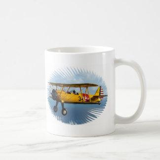 classic plane coffee mug