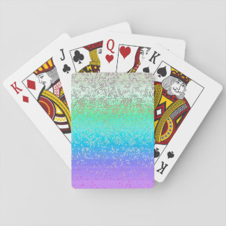 Classic Playing Cards Glitter Star Dust