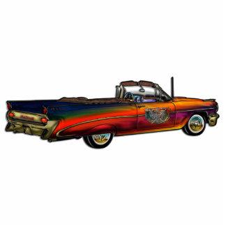 Classic Pontiac Convertible Standing Photo Sculpture