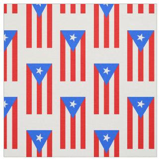 Classic Puerto Rican Flag Fabric