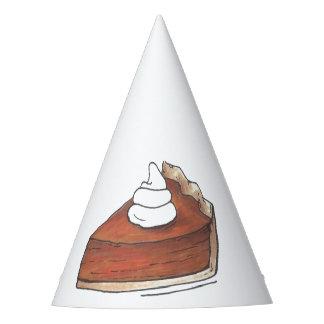 Classic Pumpkin Pie Slice Thanksgiving Dinner Food Party Hat