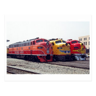 Classic Railroad Postcard
