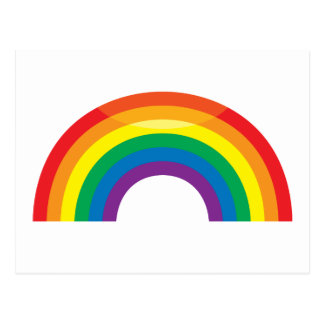 Classic Rainbow Postcards