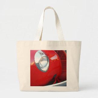 Classic red car Tote Bag