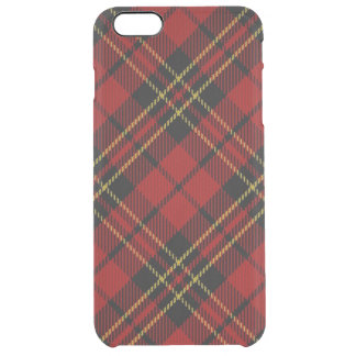 Classic Red Tartan iPhone 6/6S Plus Clear Case