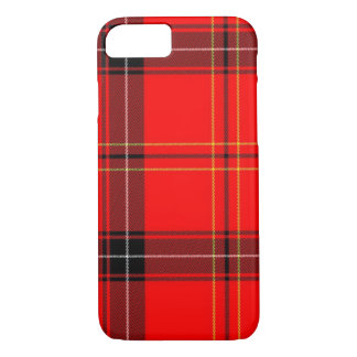 Classic Red Tartan Plaid Pattern iPhone 7 Cases