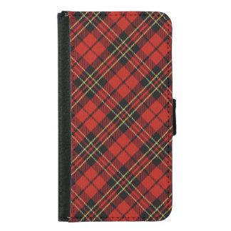 Classic Red Tartan Samsung Galaxy S5 Wallet Case