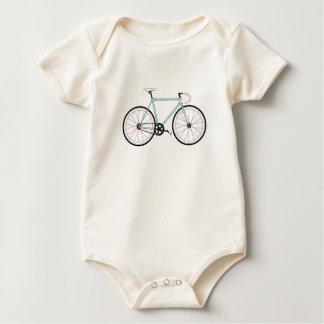 Classic Retro Bicycle Baby Bodysuit
